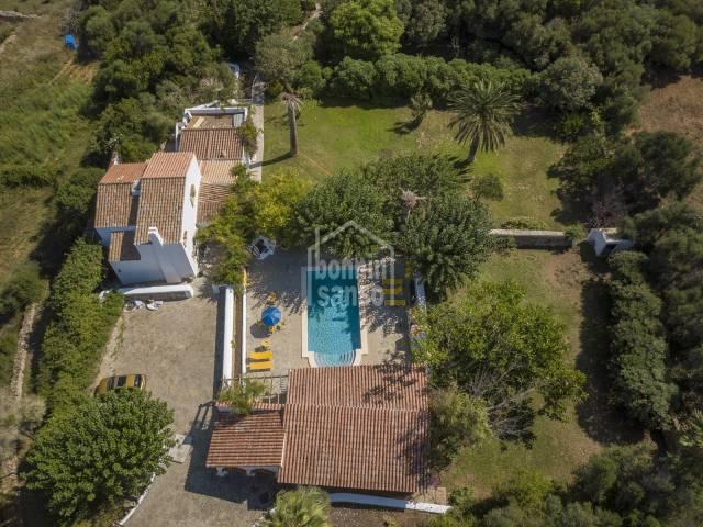 Preciosa casa de campo en Toraixer, Es Castell, Menorca.