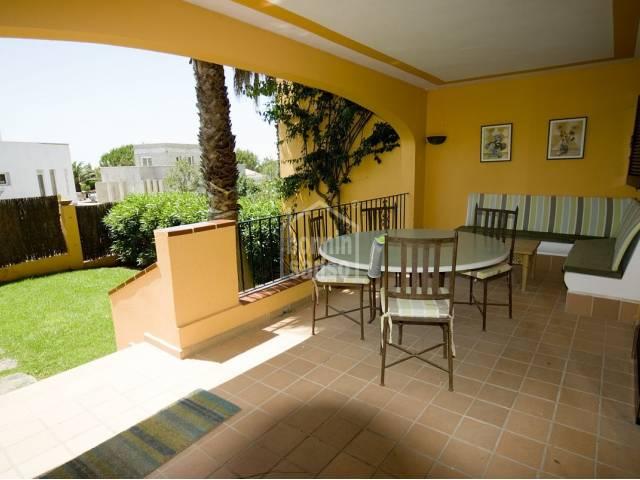 Lovely apartment with garden near Son Bou Beach Menorca