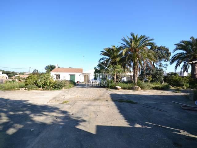 Gran casa de campo en Ciutadella