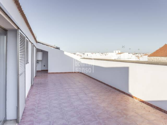 Unique: Penthouse with lift in the heart of Ciutadella, Menorca