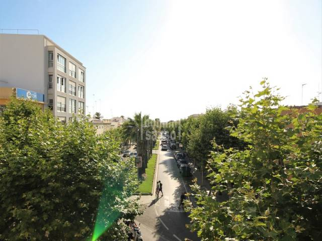 Centrally located first floor flat in Ciutadella, Menorca