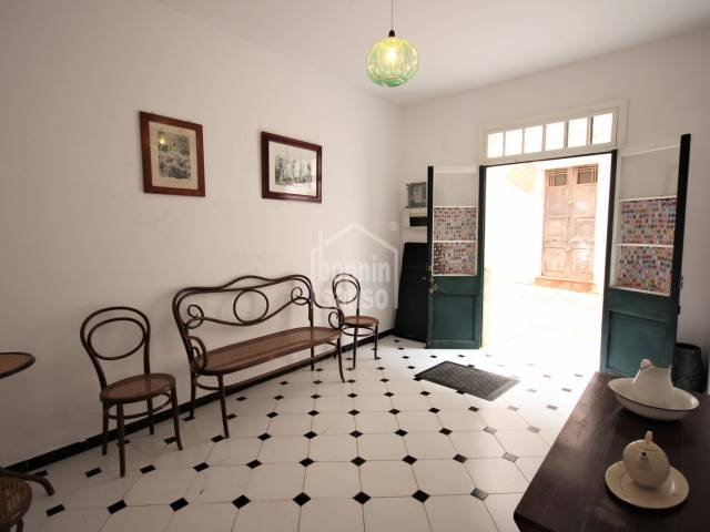 living room, Entrance hall - Beautiful house 50 meters from the Plaza del Borne, Ciutadella, Menorca