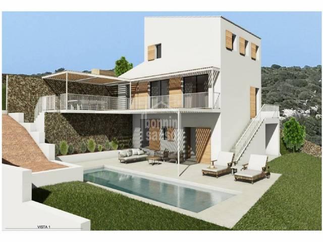 Building plot in Cala Llonga, Menorca
