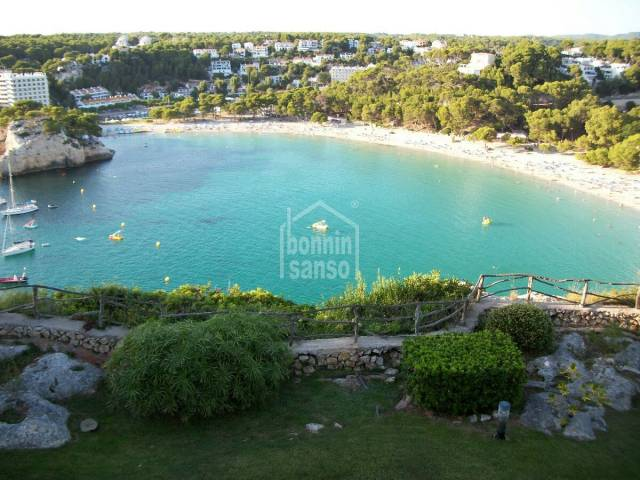 Front line villa with superb sea views in Cala Galdana