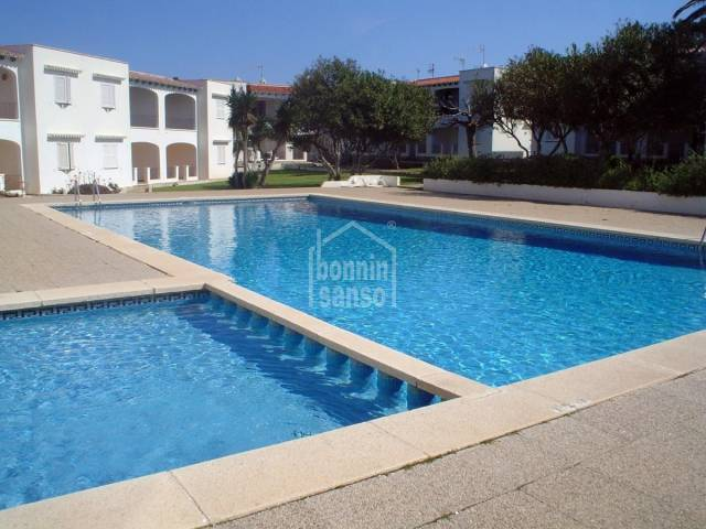First floor apartment suitable to obtain independent Tourist licence. Calan Porter Menorca