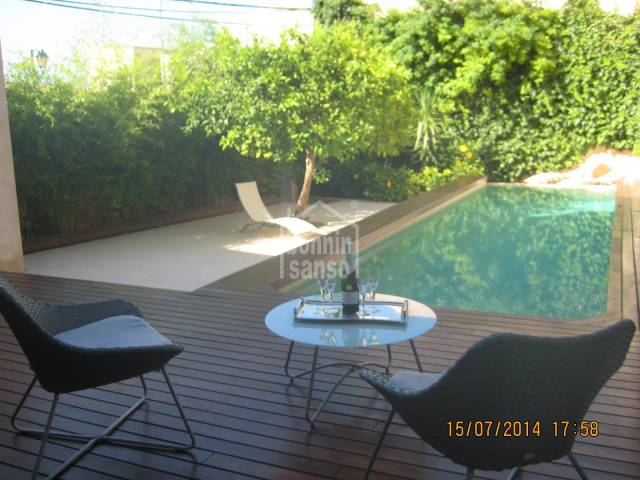 Luxury modern house for rent in Son Servera