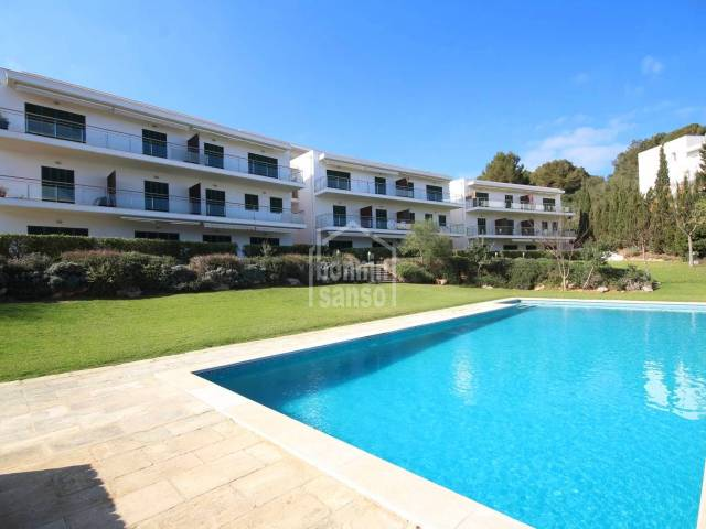 Duplex with sea view in Coves Noves, Menorca