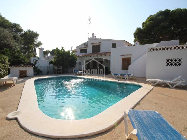 Charming detached villa in Cala Galdana, Ferreríes, Menorca