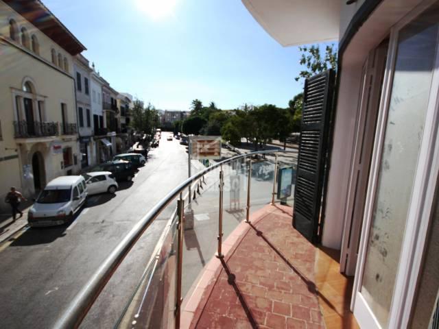 First floor apartment, centre of Mahon, Menorca