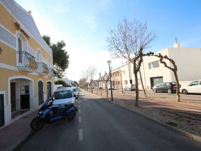 First floor apartment in the residential area of Sant Lluís, Menorca.