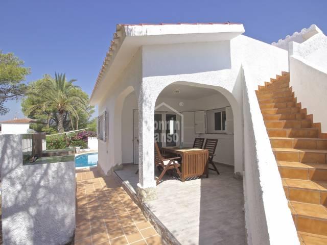 Chalet reformado con licencia Turistica en Torre Soli Nou, Menorca