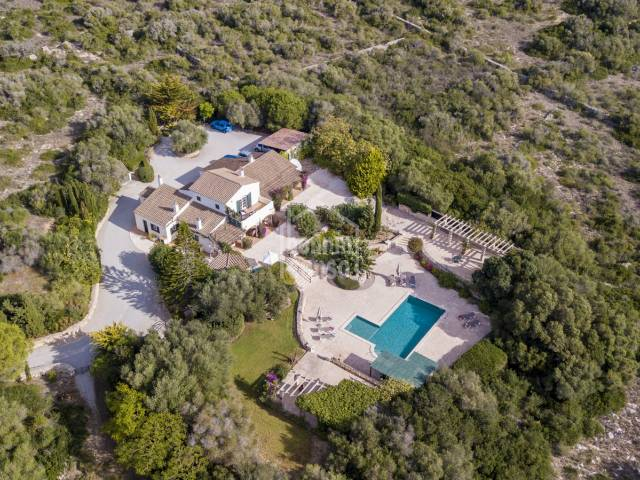 Stunning country Property with Sea View near San Luis on the south Coast of Menorca