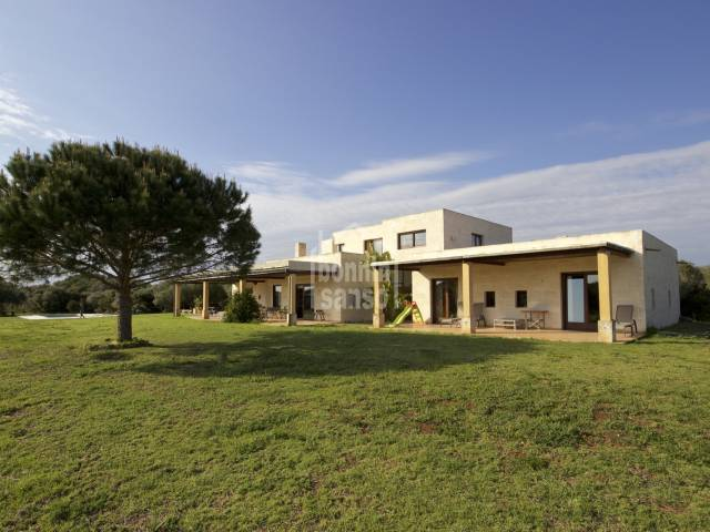 Wonderful, peaceful country house on the south coast in Menorca