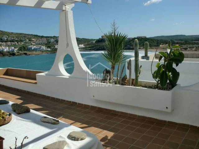 Superb front line with excelent sea and beach views Cala Tirant Menroca