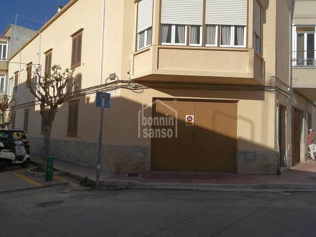 Ground floor garage with right to build on second floor, Ciutadella, Menorca