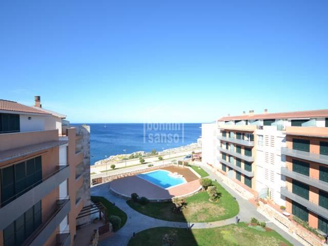 Espectacular ático con vistas al mar en el Paseo Marítimo,Ciutadella ,Menorca