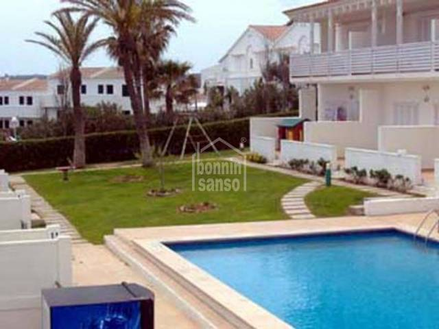 Terraced house with sea views, Son Parc Menorca