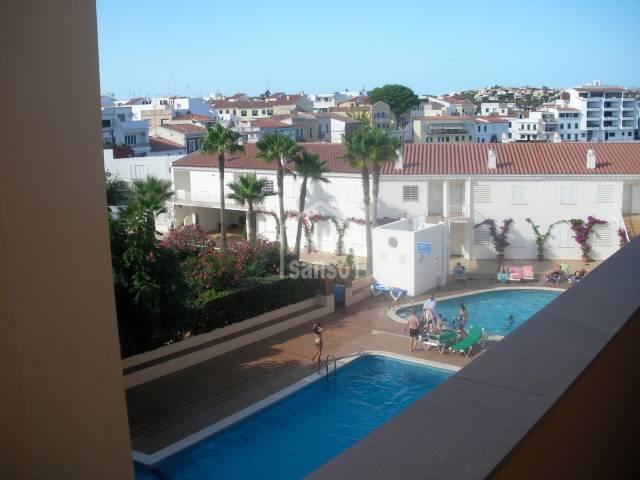 Apartamento de dos dormitorios en Santa Ana, Es Castell, Menorca.