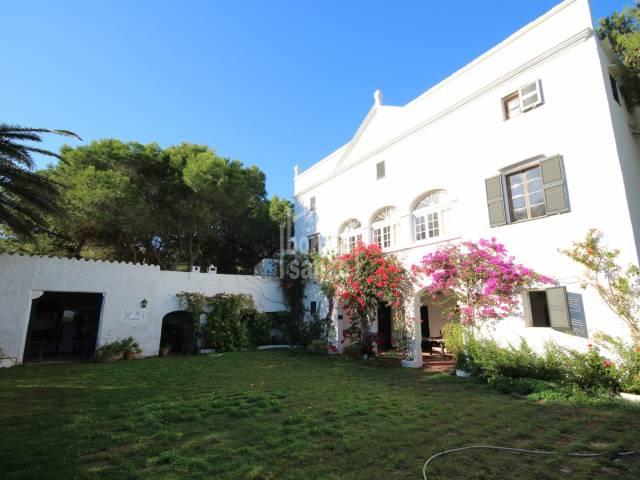 Impressive country estate in Ciutadella, Menorca