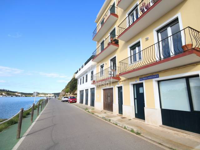 Front line apartment in Fonduco, Mahon, Menorca
