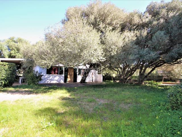 Front, Garden - Cozy country house in good condition, Torre Vila area, S'Hort de Ses Taronges, Ciutadella, Menorca