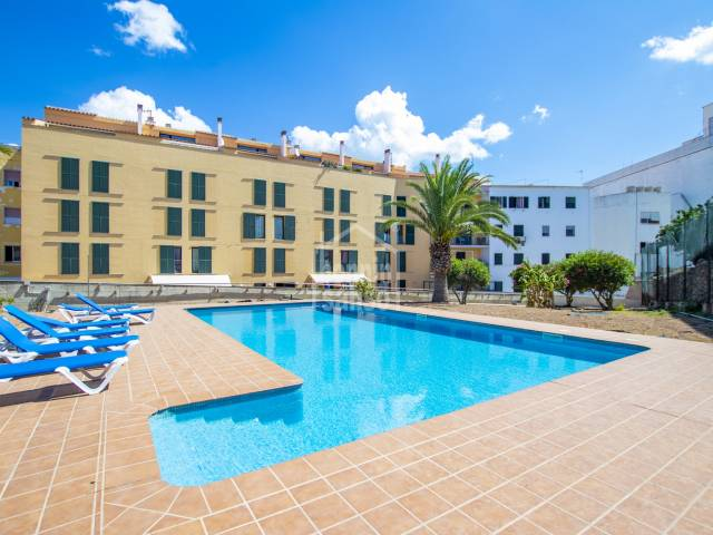 Interesting property with communal swimming pool in Mahon, Menorca