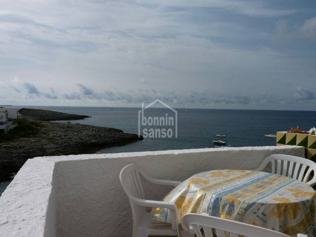 Front line apartment in Cala Torret