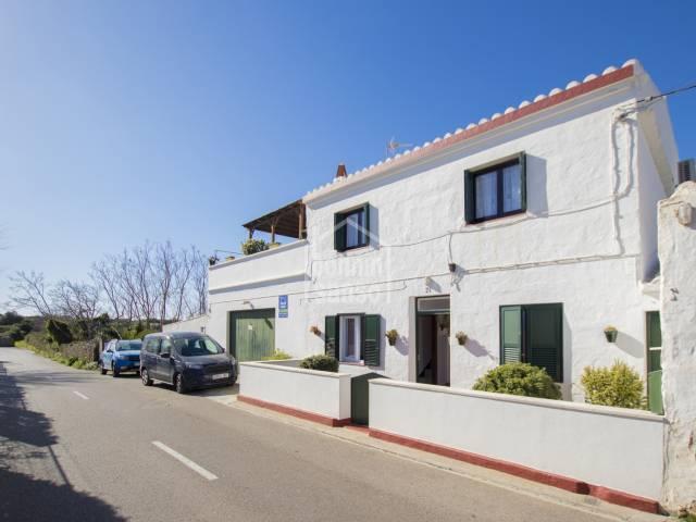 Bonita casa menorquina con buena ubicación en Mahón (Menorca)