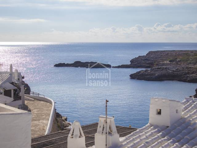 town house located in the fishing village of Binibeca Vell, Menorca