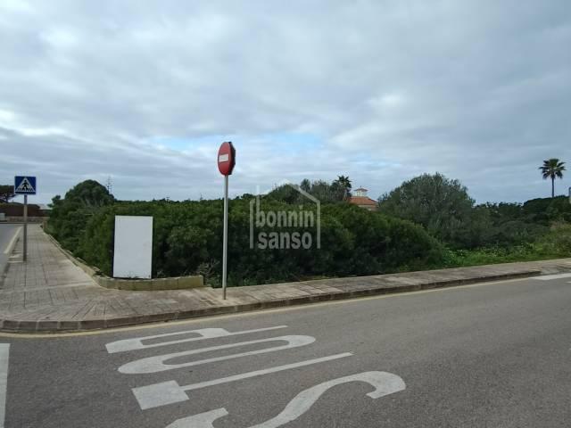 Building plot in Son Remei, Sant Lluis