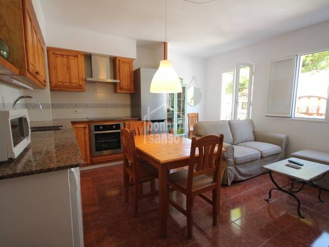 First floor apartment only a few metres from Ciudadelas market, Menorca