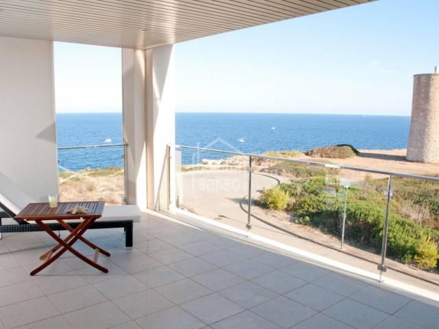 Lujoso ático de zona privilegiada con vistas panorámicas al mar en Porto Cristo. Mallorca