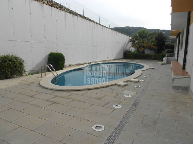 Three bedroom duplex with swimming pool in Mercadal, Menorca