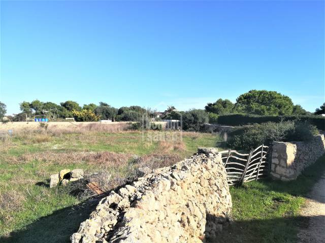 Land suitable for agriculture use in s'Hort d'en Vigo, Ciutadella, Menorca