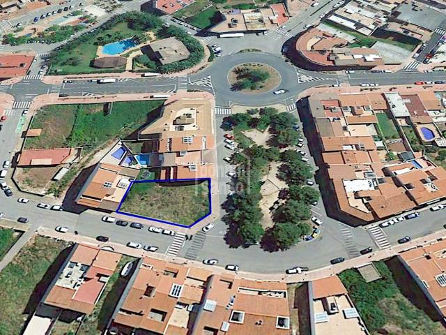 Suelo edificable para promoción de viviendas en Ferreries, Menorca