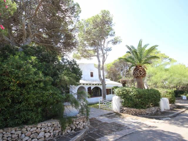 Impressive villa in Cala Morell, Ciutadella