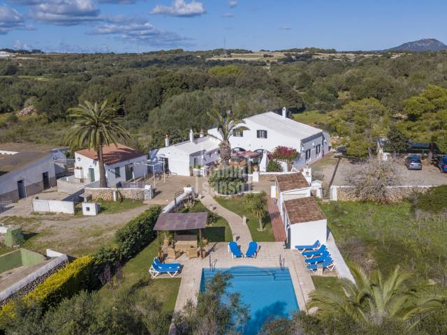 Farm of more than 28 hectares in Alayor, Menorca.
