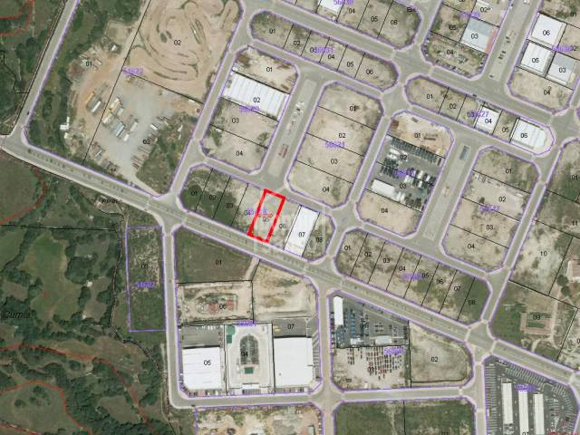 Plot located in the Industrial Estate of Mahon