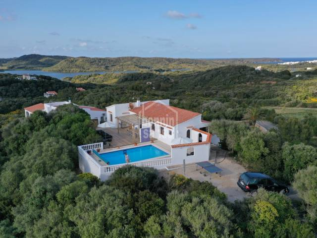 Beautiful refurbished villa in the middle of nature near Es Grau in Menorca