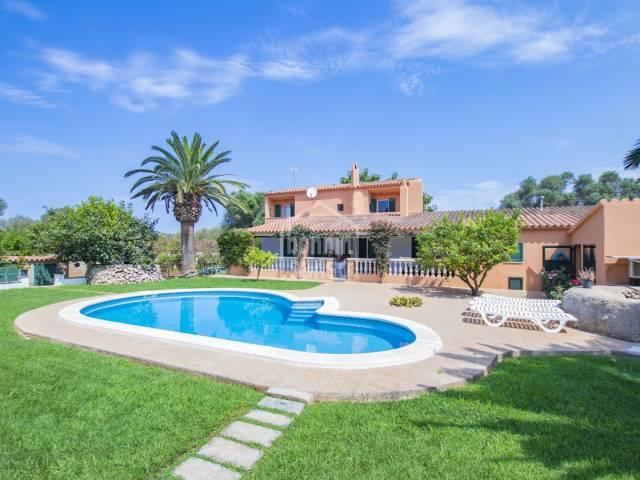Casa de Campo en Biniparell. Menorca.