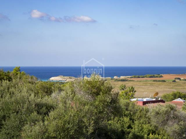 Beautiful apartment with sea views in Torre Soli, Menorca