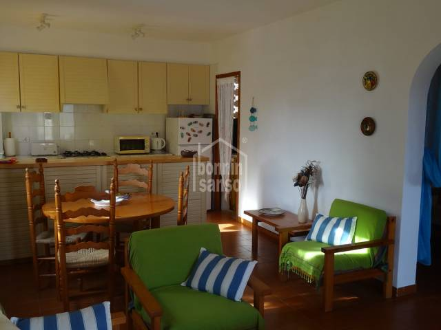In Arenal d´en Castell, Menorca, magnificent ground floor apartment.