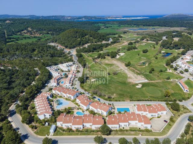 Apartment overlooking the golf course at Son Parc. MENORCA