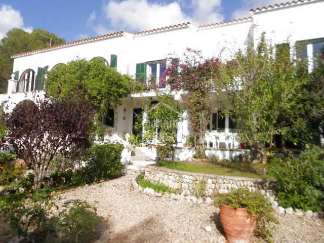 Stunning home and garden in Santo Tomas, Menorca