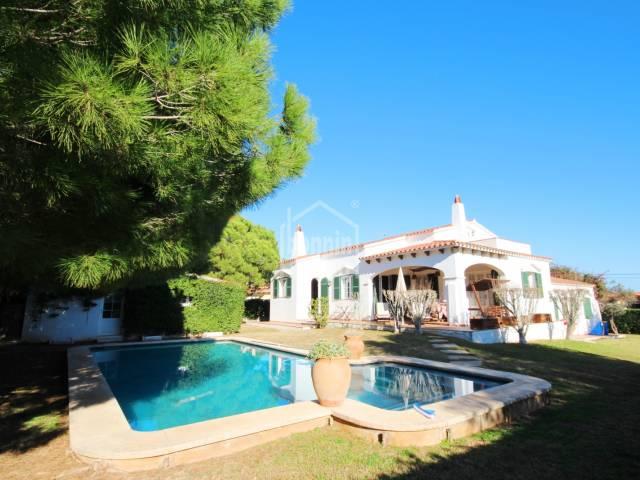 Villa in der Urbanisation von Binixica, Menorca