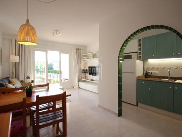 Two-bedroomed apartment in the urbanization of Los Delfines in Ciutadella, Menorca.