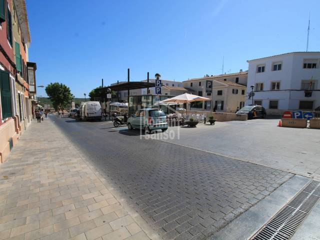 Lease for sale on car park space in the centre of Mahon, Menorca