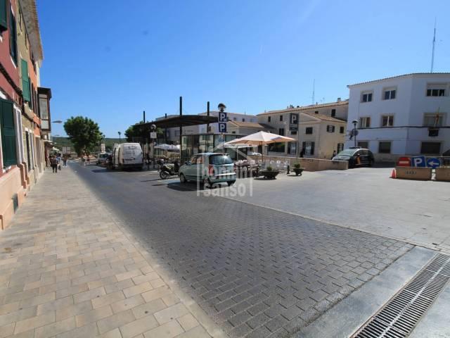 Plaza de parking en concesión en zona centro de Mahón, Menorca