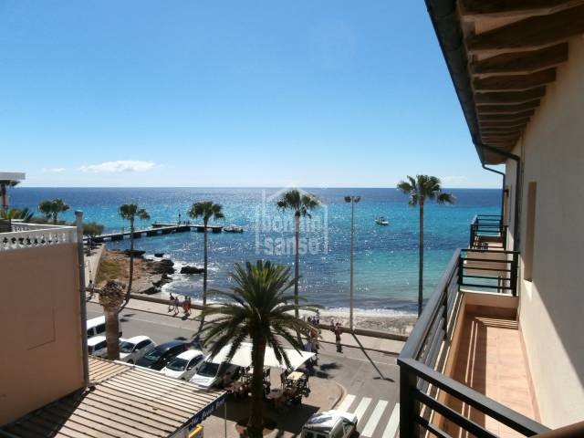 Apartamento con vista mar