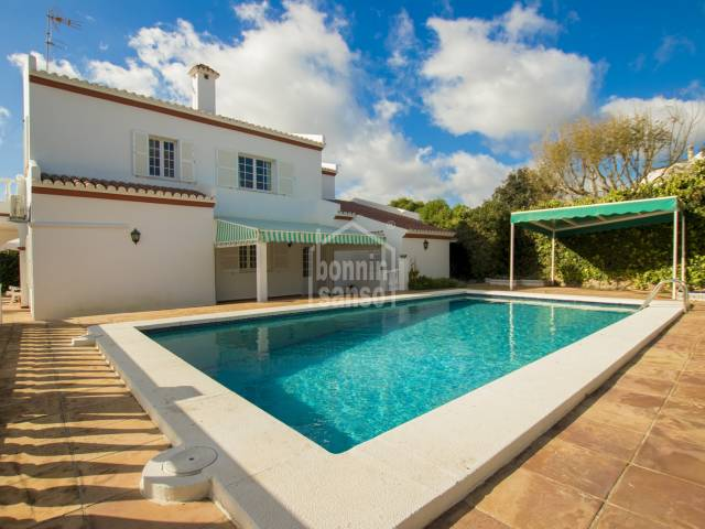 Attractive villa in Binixica, Menorca.